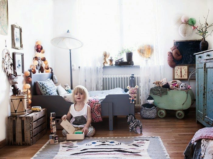 bohemian chic kidsroom