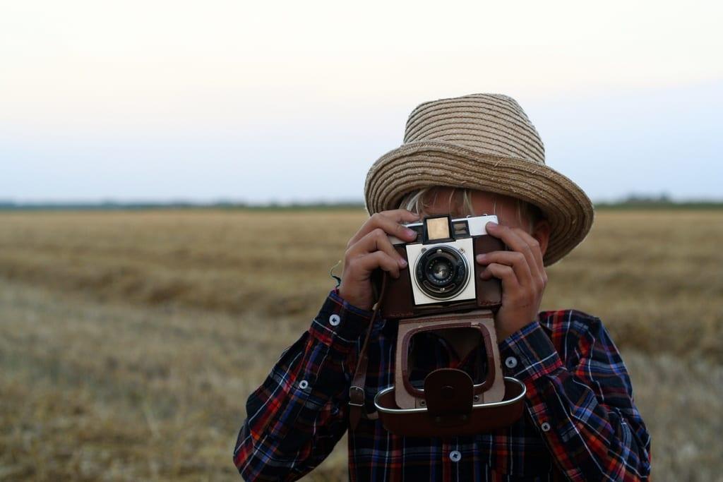 kinderfotografie in de avond