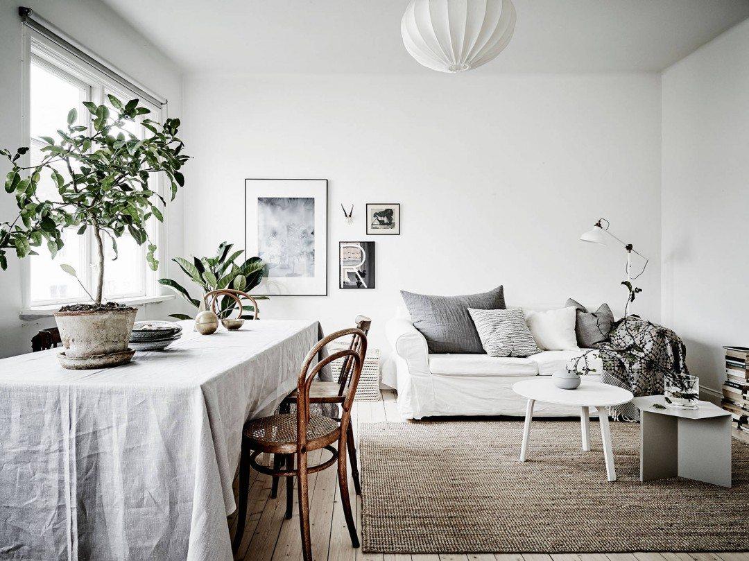 Wohnideen Wohnzimmer Vintage: Wohnzimmer betonfliesen. Graue ...