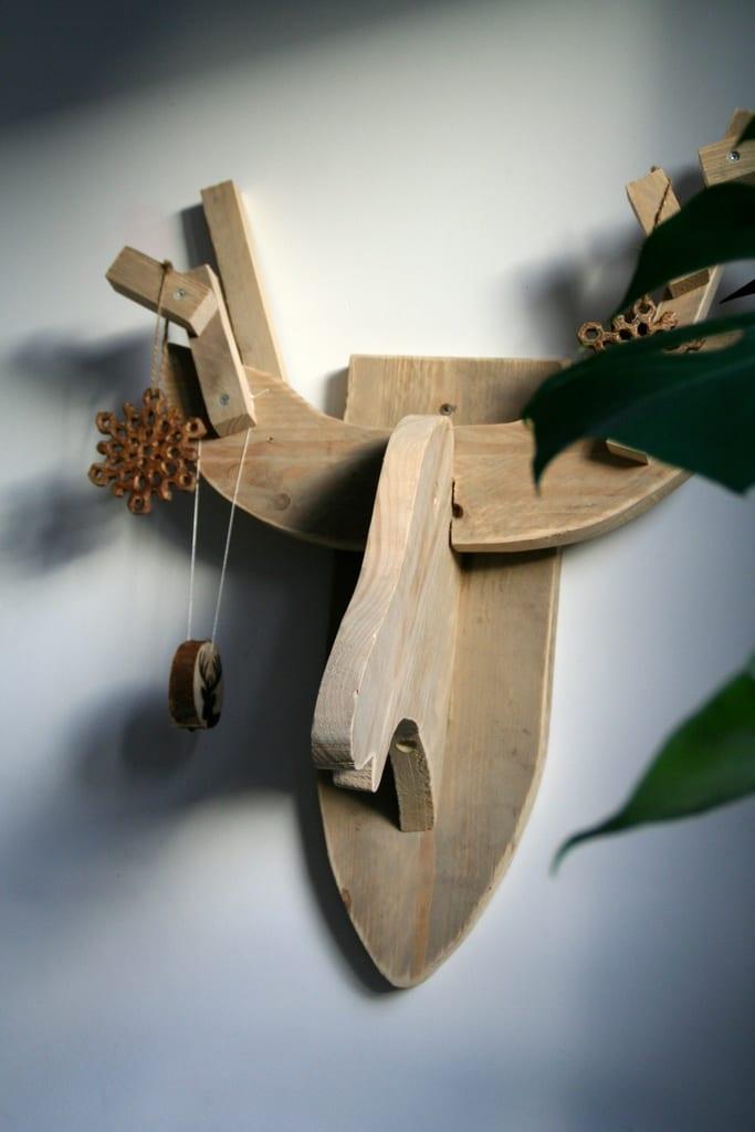 dierenkop steigerhout