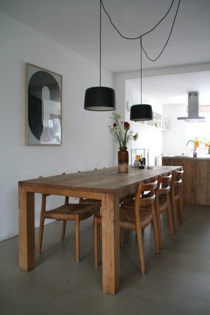 Lampen boven de eettafel coosje blog nordic living for Verlichting eetkamertafel