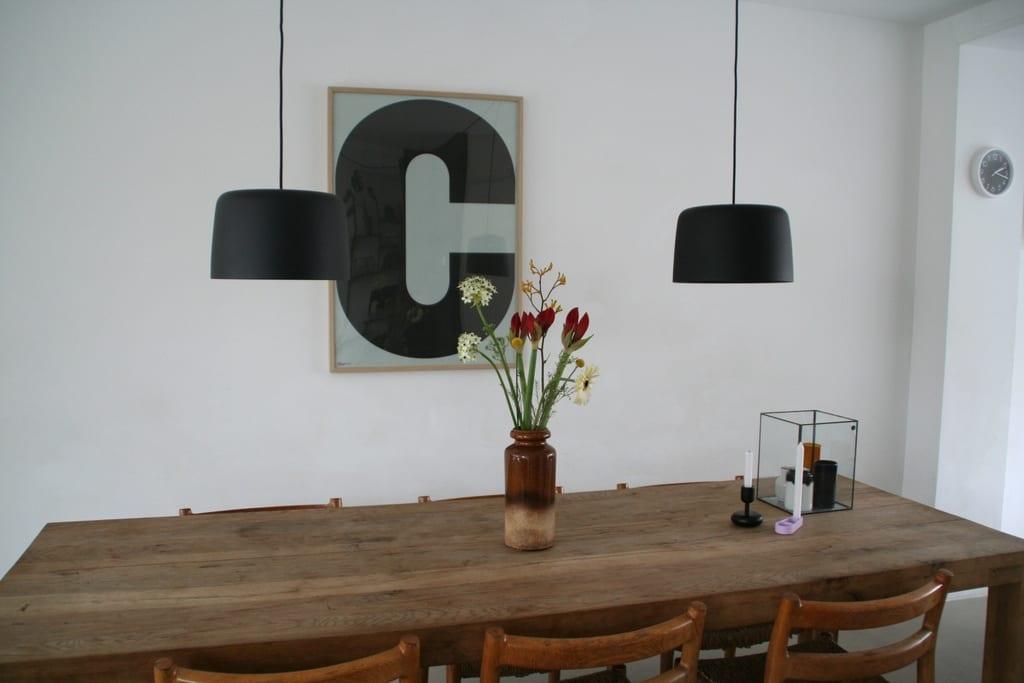 Verlichting boven de eettafel coosje nordic living