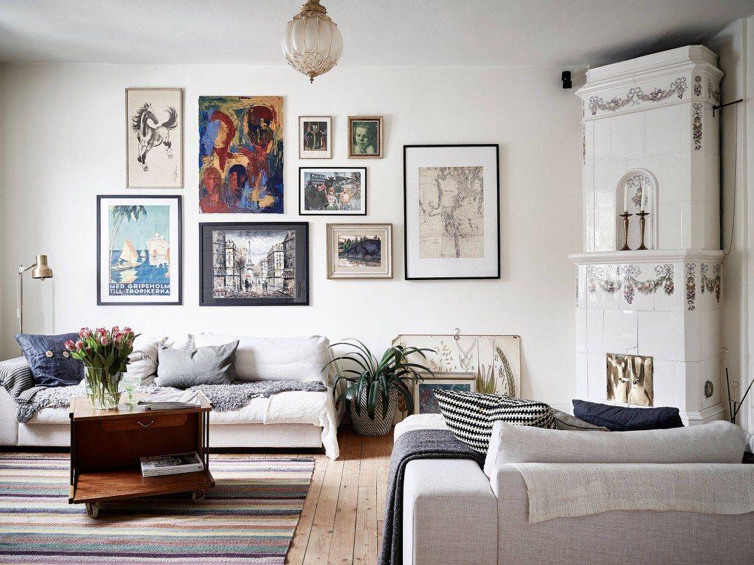Muur inspiratie coosje blog nordic living for Mooie huiskamer inrichting