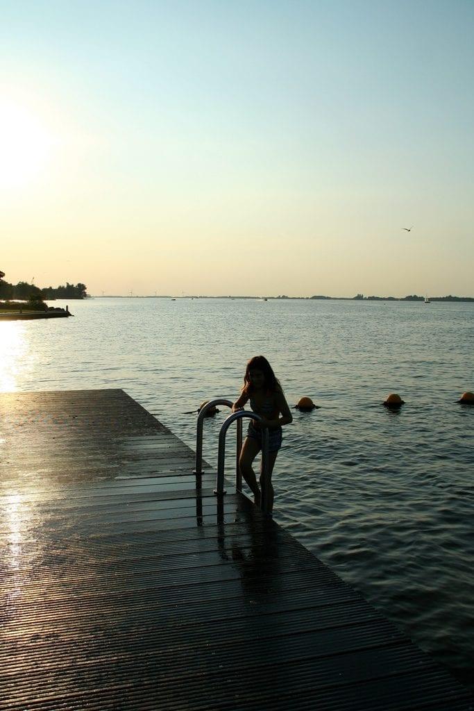 avondzwemmen