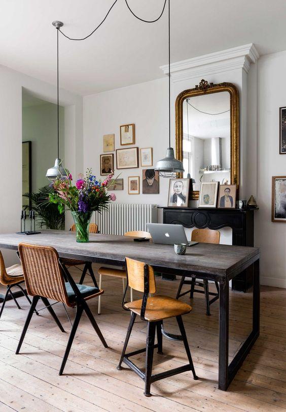 Eetkamerstoelen welke stijl stoelen past er in jouw eetkamer coosje blog nordic living - Deco van de eetkamer ...