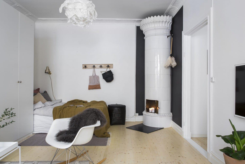slaapkamer scandinavische stijl