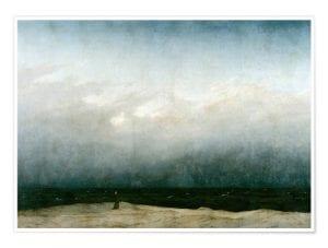 monnik aan zee
