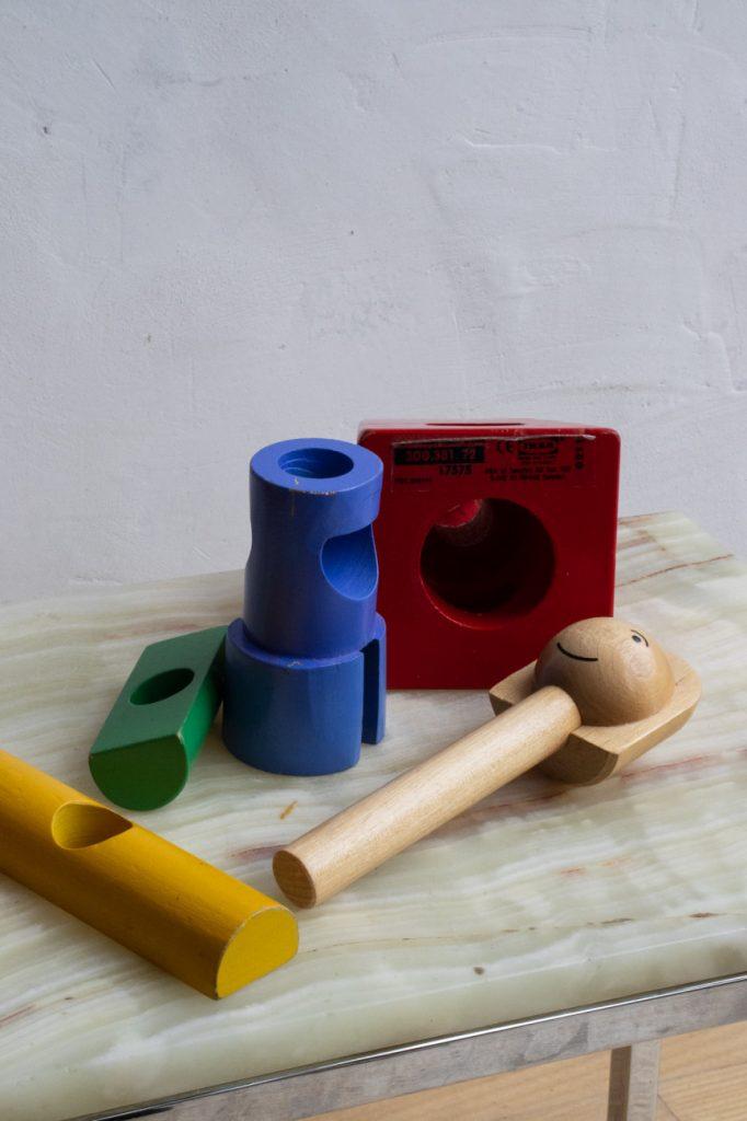 vintage ikea houten pop